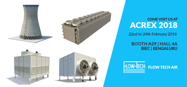 Flow Tech Air At Acrex 2018 Cooling Towers Cti
